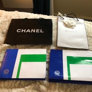 Designer Chanel and Tory Burch Sport Bags